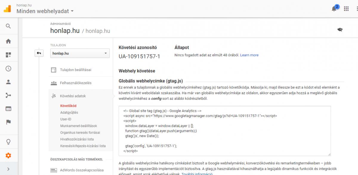 cc1eae2cdc A Google Analytics bemutatása kezdők részére