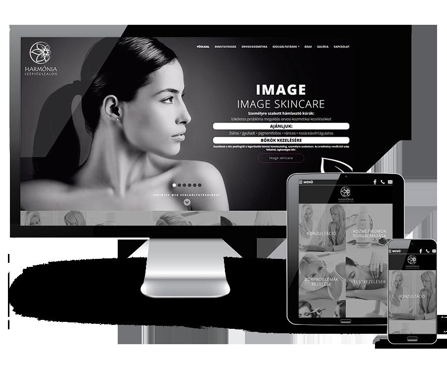Pecsikozmetika.hu reszponzív kozmetikai weboldal készítése