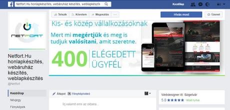 Ingyen készítjük el facebook fiókját, ha most rendel honlapot!