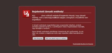 """Feltört weblap vírusmentesítése, """"bejelentett támadó webhely"""" javítása"""