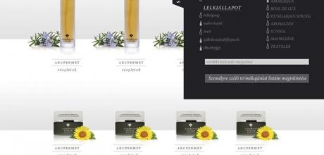 Adriennefellerwebshop.hu webáruház készítés