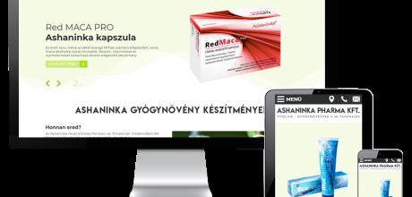 Ashaninka.hu - Ashaninka gyógynövények, gyógynövénykészítmények - reszponzív honlapkészítés