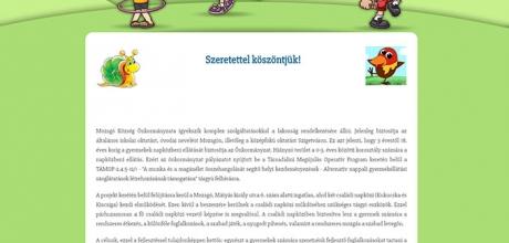 Csaladinapkozimozsgon.hu - Családi napközi Mozsgón projekt kialakítása