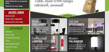 csillarbolt.hu webáruház megújítása
