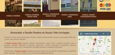 Familiapizzeria.hu reszponzív oldal készítés