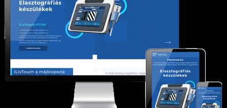 Fibromed.hu - Elasztográfiás készülékek - Reszponzív honlapkészítés