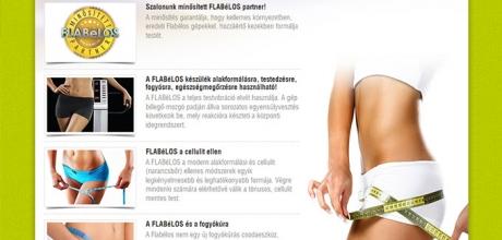 Flabélos Pécs weboldal elkészítés