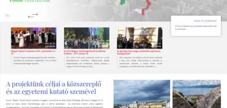 Folyamlovaros.hu - Fiume a folyamló város projektoldal - reszponzív honlapkészítés