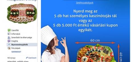 Facebook nyereményjáték - hidegtalkiraly.hu