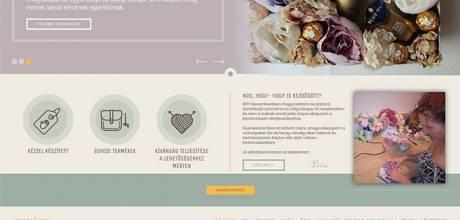 Illirdekor.hu - kreatív, kézzel készített termékek - reszponzív honlapkészítés