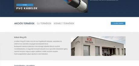 Kabelkereskedo.hu - kábelek, vezetékek forgalmazása - reszponzív webáruház készítés