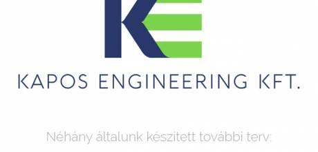 Kapos Engineering Kft. logó készítés