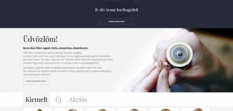 Karikagyurukell.hu - karikagyűrűket árusító reszponzív honlap készítése