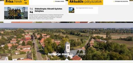 Ketujfalu.hu - Kétújfalu Község honlapja - reszponzív honlapkészítés