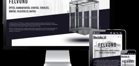 Lifttechnika.hu - Felvonók, épület akadálymentesítés - reszponzív honlapkészítés