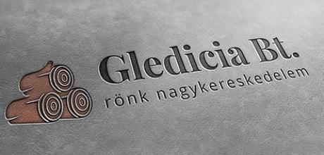 Gledicia Bt. logó tervezése