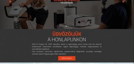 med-pro.hu webáruház elkészítése