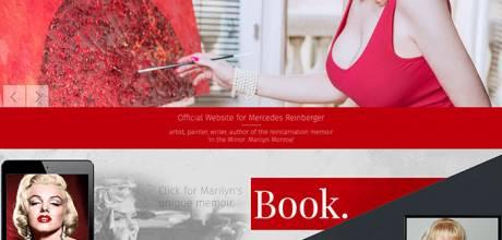 Mercedesreinberger.com, reszponzív bemutatkozó weboldal készítése