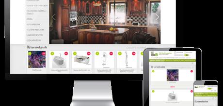 Mobelstore.hu reszponzív bútor webáruház megújítása