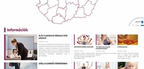Munkacsalad.hu - a munka és a családi élet egyensúlyáért - reszponzív honlapkészítés