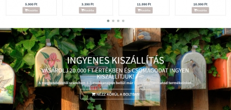 algothermshop.hu webáruház megújítása