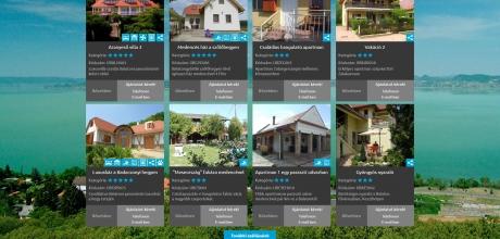 Ungarnbooking.com reszponzív szállásközvetítő honlap fejlesztése