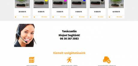 Olcsopatron.hu - tintapatron, nyomtatópatron, toner - reszponzív webáruház készítés