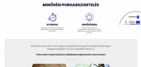 Polyszigeteles.hu - Minőségi purhabszigetelés - Reszponzív honlapkészítés