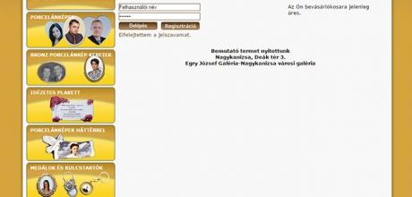 porcelankep.hu weboldal készítése