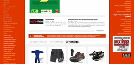 Praktikatuzvedelem.hu - Tűzvédelmi és munkavédelmi reszponzív webáruház készítése