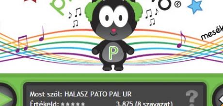 picurradio.com gyerekrádió honlap megújítás
