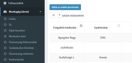 Ügyviteli rendszer készítés a Wolfbauteam Kft. részére