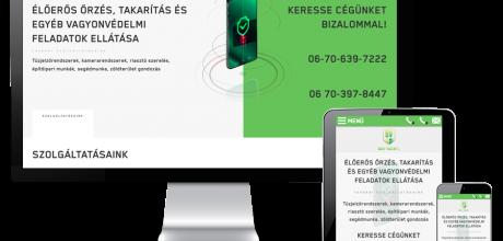 Bontved.hu - Vagyonvédelem, építőipar - reszponzív honlapkészítés