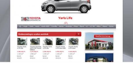 Roadservice.hu webprogramozási munkái
