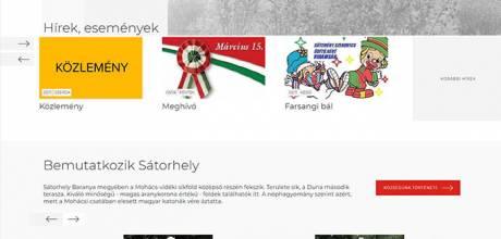 Satorhely.hu - Reszponzív önkormányzati honlapkészítés