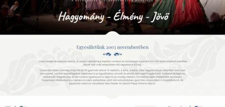 Satorhelytanc.hu - Sátorhely Néptánc Együttes honlapja - Reszponzív honlapkészítés