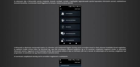 Sportmap.hu - Az applikáció reszponzív honlapjának elkészítése