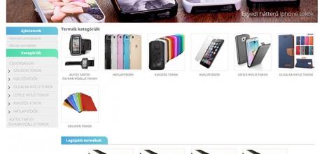 Telefontokaruhaz.hu webáruház készítés