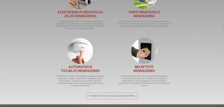 Stentorisecurity.hu - beléptető, kamerarendszerek - reszponzív honlapkészítés