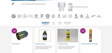 Szegoautosbolt.hu - minőségi autóalkatrészek - reszponzív webáruház készítés