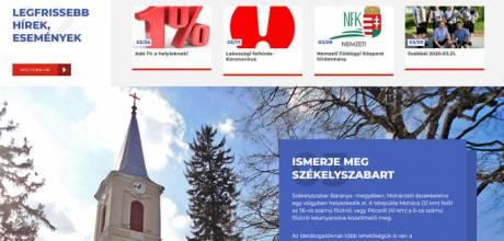 Szekelyszabar.hu - Székelyszabar település honlapja - reszponzív honlapkészítés