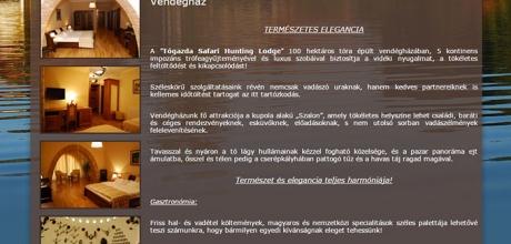 togazdasafari.hu weboldal készítés