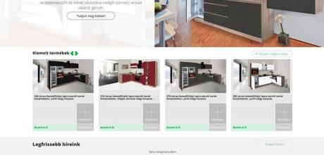 Vertexbutor.shop reszponzív bútor webáruház készítése