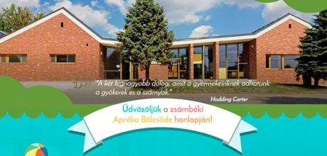 Zsámbékbölcsőde.hu iskolai responsive weboldal készítés