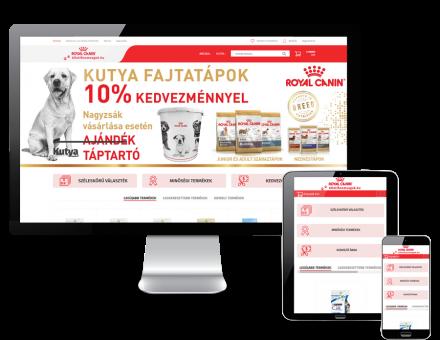 Allatifinomsagok.hu - Kutya és macska eledel reszponzív webáruház
