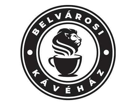Belvárosi Kávéház - logó készítés