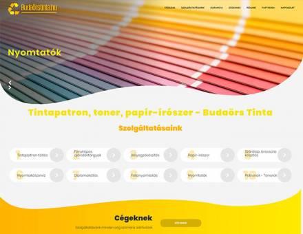 Budaorstinta.hu - tintapatron, toner, papír-írószer - Reszponzív honlapkészítés