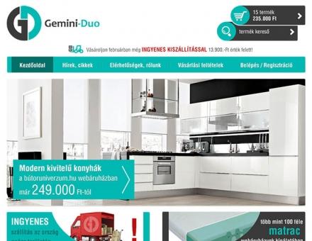 butoruniverzum.hu webáruház elkészítése