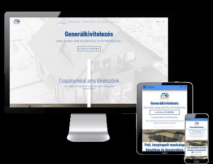 Doubledbuilder.hu - generálkivitelezés - reszponzív honlapkészítés