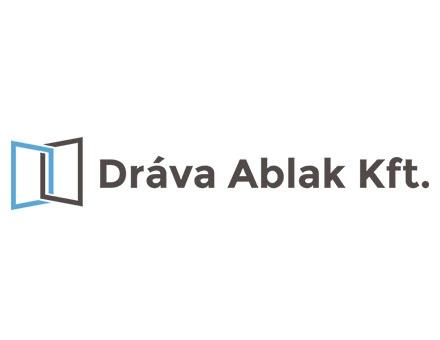 Dráva Ablak Kft. logó készítés